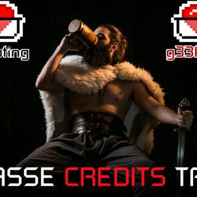 KRASSE CREDITS TAGE!