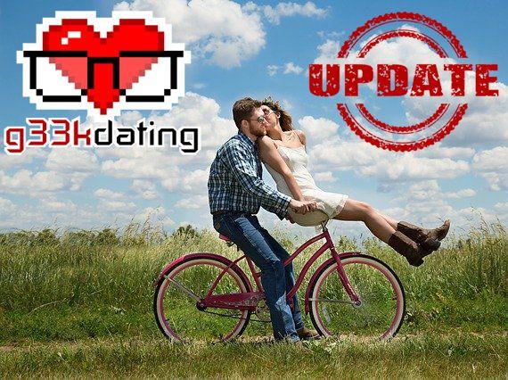 Das größte g33kdating Update!