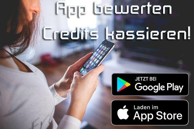 [Sequel] App bewerten - Credits kassieren!