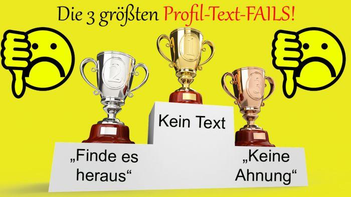 Geek-Dating-Tipps #8: Die 3 größten Profil-Text-FAILS!
